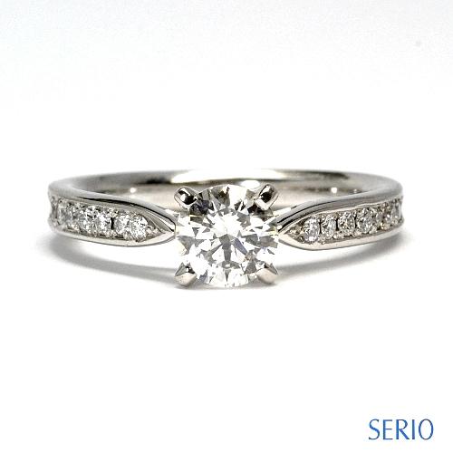 ダイヤ・エンゲージリング(婚約指輪)とお手持ちのピアスをリフォーム