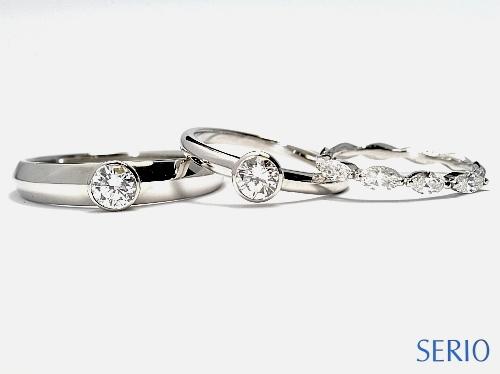 フルオーダーメイド・結婚指輪・婚約指輪